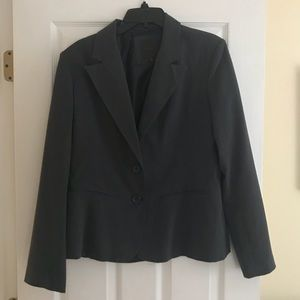 The Limited dark Gray Blazer